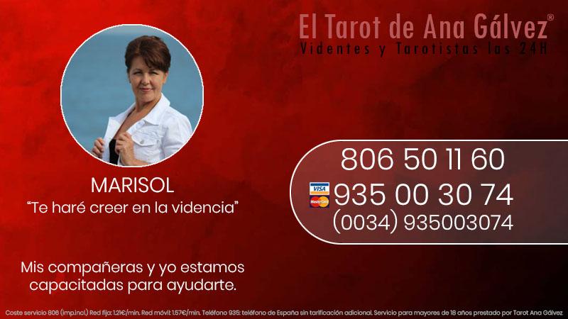 el tarot y la videncia de Marisol mejores videntes de España