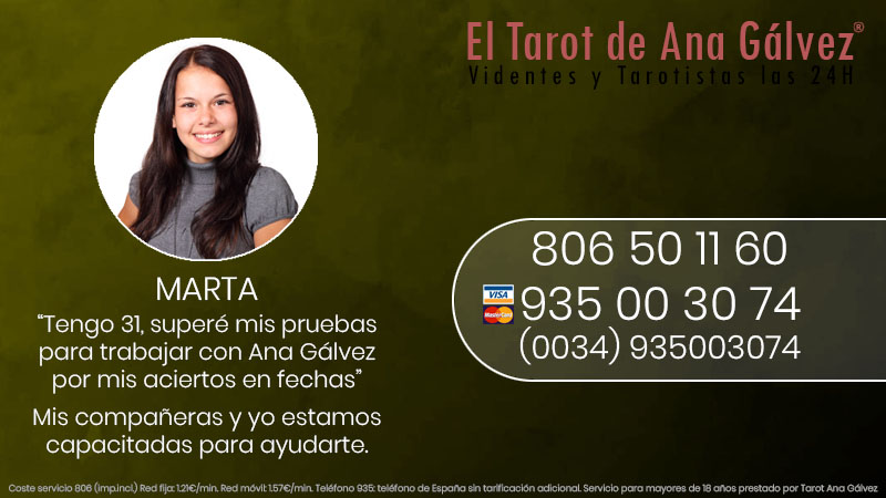 El tarot serio y fiable de Marta